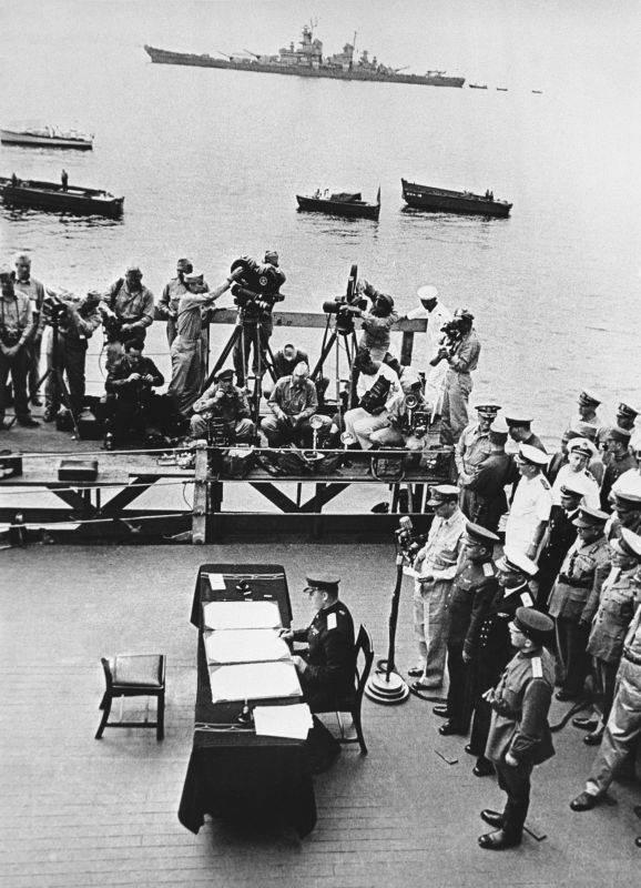 Дата окончания Второй мировой войны перенесена на 3 сентября