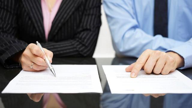 Соглашение о разделе имущества супругов (образец): форма, стоимость у нотариуса